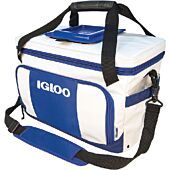 Igloo 00062907 White & Navy 36 Can Marine Ultra Coast Cooler