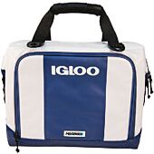 Igloo 00062911 White & Navy 36 Can Marine Ultra Snap Down Cooler
