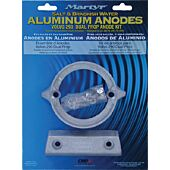 Martyr Aluminum Anode Kit For Volvo Penta 290 Dual Prop Engine (Contains 1-875821, 1-852835 and Fastening Hardware)
