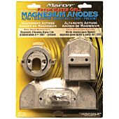 Martyr Anode Kit For Mercury Alpha I Generation II Engine 1991-Present (Contains 1-762145, 1-806105, 1-821629, 1-821631, 2-806189 and Fastening Hardware)