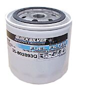 Quicksilver Water Separating Fuel Filter Element Only, 25 Micron Mininum Used in Both Outboard and MerCruiser Applications