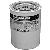 Quicksilver Oil Filter For All MCM/MIE GM Engines, Except V-6 Without Remote Oil Filter