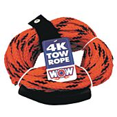 WOW Towable Tow Rope, 60', 4 Riders
