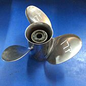 Used Honda 17P Stainless Propeller 13.25 x 17 Part# 08M60-ZW7-A10