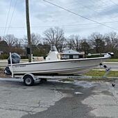 2015 Key West 210 Bay Reef with 150HP Yamaha Outboard and EZ Loader Trailer