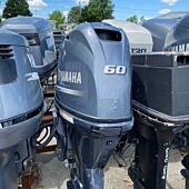 2017 Yamaha F60LB 60HP Outboard For Parts