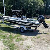 Nitro 640LX Bass Boat - Complete Rig