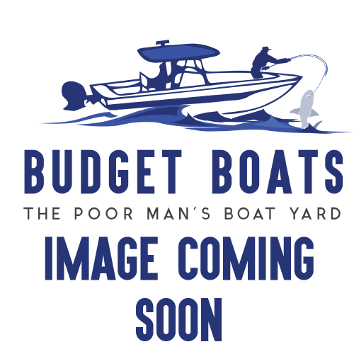 1989 Alumacraft 14' Jon Boat - Hull & Trailer (5074)
