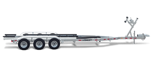 Load Rite Galvanized V-Bunk Trailers